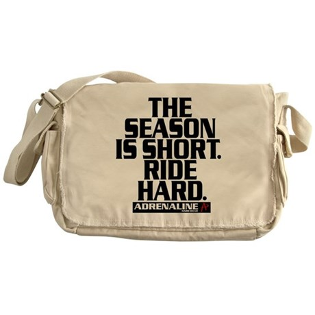 Short Season Messenger Bag
