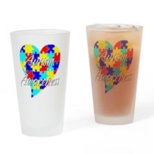 autismawareness Drinking Glass