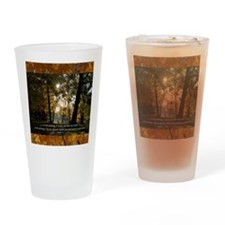 psalm53 Drinking Glass
