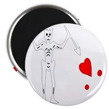Blackbeard-White Magnet