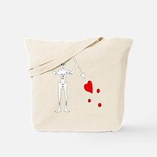 Blackbeard-White Tote Bag