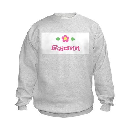 "Pink Daisy - ""Ryann"" Kids Sweatshirt"