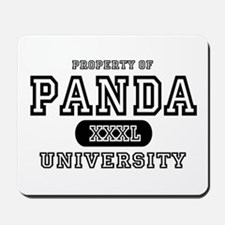 Panda University Mousepad