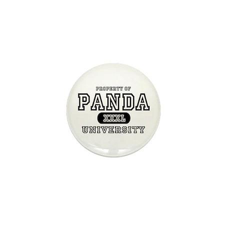 Panda University Mini Button (10 pack)
