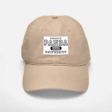Panda University Baseball Baseball Cap