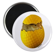 "Golf Chick 2.25"" Magnet (10 pack)"