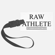 raw athlete design Luggage Tag