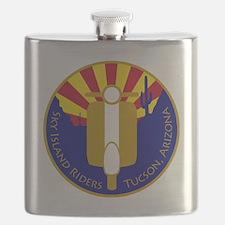 2-skyislandPATCHtransparent Flask
