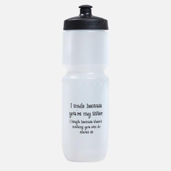 smilesister.png Sports Bottle