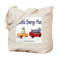 Obama Energy Plan Tote Bag