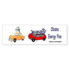 Obama Energy Plan Bumper Sticker