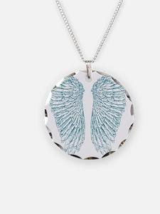 Blue Angle Necklace