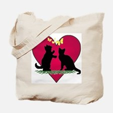 I love my kittens Tote Bag