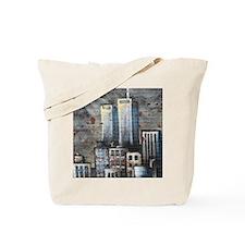 Twin Towers graff II Tote Bag