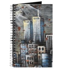Twin Towers graff II Journal