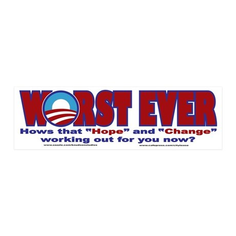WORST-EVER 20x6 Wall Decal