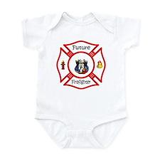 Future Firefighter Red Onesie