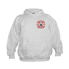Future Firefighter Red Hoodie
