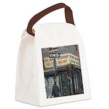 Brooklyn Psychedelic Canvas Lunch Bag