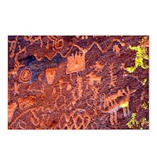 Rock Art Postcards (Package of 8)