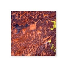 "Rock Art Square Sticker 3"" x 3"""