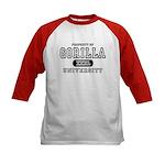 Gorilla University Kids Baseball Jersey