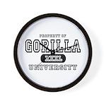 Gorilla University Wall Clock