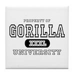 Gorilla University Tile Coaster