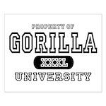 Gorilla University Small Poster