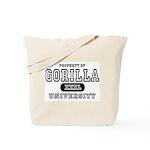 Gorilla University Tote Bag