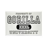 Gorilla University Rectangle Magnet