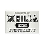 Gorilla University Rectangle Magnet (10 pack)