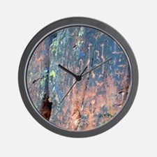 V Bar V Rock Art Wall Clock