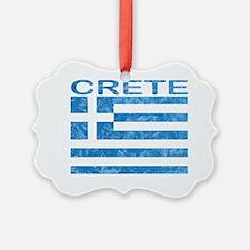 crete_flag_t_shirt Ornament