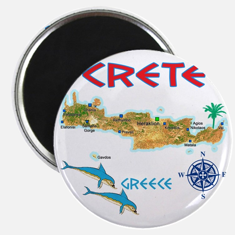 crete_t_Shirt_maP Magnet