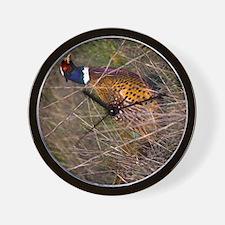 (12p) Pheasant  407 Wall Clock