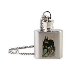 Yasmine11x17 Flask Necklace