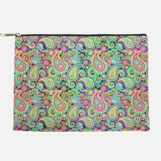 Spring paisley Makeup Pouch