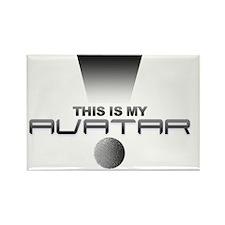 avatar2 Rectangle Magnet