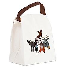 AP85dark Canvas Lunch Bag