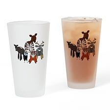 AP85dark Drinking Glass