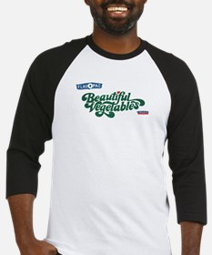 Beautiful Vegetables Baseball Jersey