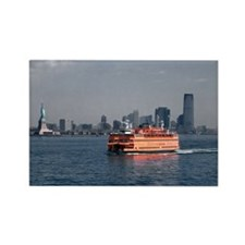 (3) Staten Island Ferry Rectangle Magnet