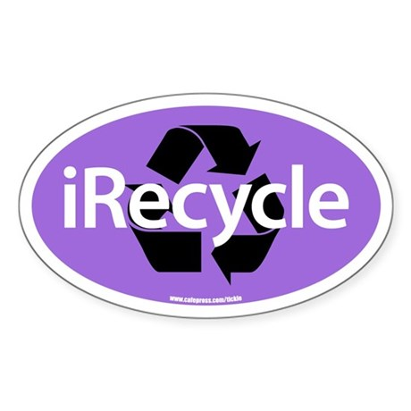 IRECYCLE Oval Sticker