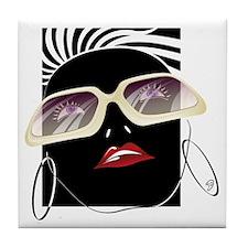 Diva Girl Tile Coaster