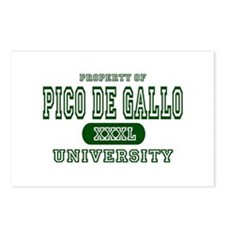 Pico de Gallo University Postcards (Package of 8)