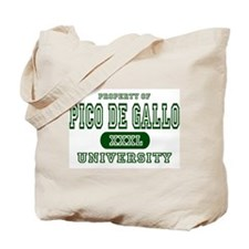 Pico de Gallo University Tote Bag