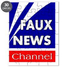 faux news channel white Puzzle