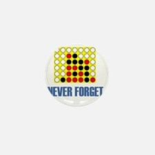 Never forget-connect four-1 Mini Button