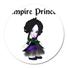 vampire princess Round Car Magnet